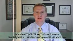 What is the Penalty for Driving Without a License in Maryland Attorney Randolph Rice explains.