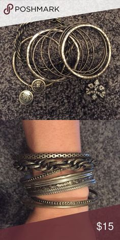 Gypsy Soule Bangles A set of bangles - never been used Gypsy Soule Jewelry Bracelets