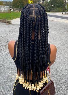 Box Braids Hairstyles For Black Women, Braids Hairstyles Pictures, Black Girl Braids, African Braids Hairstyles, Baddie Hairstyles, Braids For Black Hair, Girls Braids, Protective Hairstyles, Girls Natural Hairstyles
