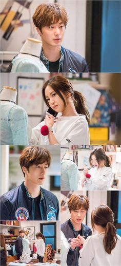 In the newest still-cuts from upcoming tvN drama 'Cinderella and Four Knights', Jung Il Woo and A Pink's Na-Eun share an up-close, one on one moment t… Jung Il Woo, K Drama, Drama Fever, Cinderella And Four Knights, Young And Rich, Park So Dam, Japanese Drama, Ahn Jae Hyun, Kdrama Actors
