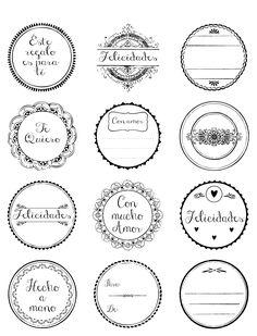 Etiquetas para regalos                                                                                                                                                      Más