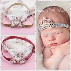 Baby-Headband-Princess-font-b-Tiara-b-font-Headband-Little-Girl-Sparkle-Crown-Hairbow-Newborn-font.jpg (600×600)