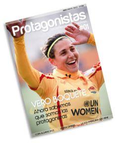 First printed magazine about women's soccer around the world in Spanish / Primera revista sobre fútbol femenino en Español editada por @Pablo Ilde PDJ
