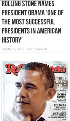More important, however, polls – or even elections – are not the measure of a president. High office shouldn't be about putting points on the electoral scoreboard, it should be about changing the country for the better. Has Obama done that? Do his achievements look likely to endure? The answer to both questions is yes. Read more: http://www.rollingstone.com/politics/news/in-defense-of-obama-20141008#ixzz3SbkAz2aS Follow us: @rollingstone on Twitter | RollingStone on Facebook