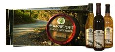 Willowcroft Winery - actually got to taste grape juice made from the day's harvest...totally beats Welch's!