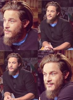 Travis Fimmel from Vikings. A little eye candy while Jax Teller is on hiatus.