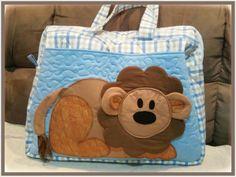 Patch bolsa de maternidade que criei.Tam:50×40.