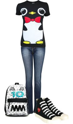 """""""another school day"""" by loudandproud124822 on Polyvore"""