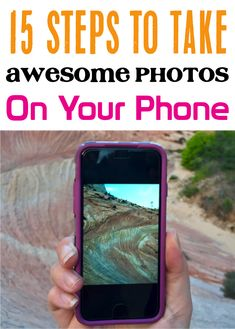 How to Take Awesome Photos on Your Phone! Check out these 15 tips and tricks to taking awesome photos on your phone! Photography Lessons, Camera Photography, Creative Photography, Camera Basics, Camera Tricks, Take Better Photos, How To Take Photos, Iphone Information, Iphone Life Hacks