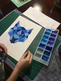 Instruction en Folie: Arts visuels : Loup et symétrie.
