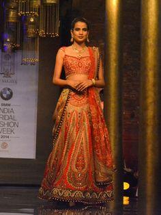 Bridal Lehenga by JJ Valaya #indianbride #lehenga #wedmegood