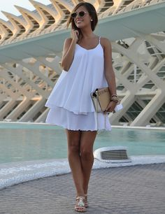 14 Black And White Trendy  Dresses For Summer