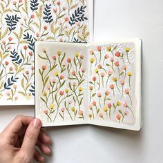 A little idea quickly painted in a sketchbook can become a piece of art with BIG plans. Sketchbook Inspiration, Art Sketchbook, Botanical Illustration, Graphic Illustration, Aesthetic Painting, Guache, Doodle Designs, Posca, Gouache Painting