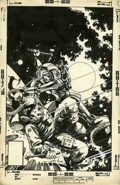 Battlestar Galactica, Vol. 1 # 20 by Walt Simonson, with Interior Inks by Klaus Janson, Letters by Diana Albers, and Colors by Steve Oliff.