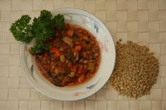 Lentil - Vegetable Soup from Fresh from the Vegan Slow Cooker