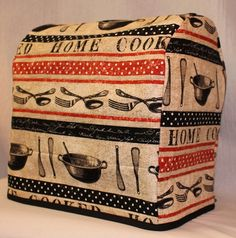 Quilted KitchenAid Mixer Cover  Fits 4.5qt. by DontThreadOnMeShop, $30.00