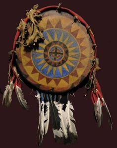 The Native American medicine shield had nothing to do with protection in battle