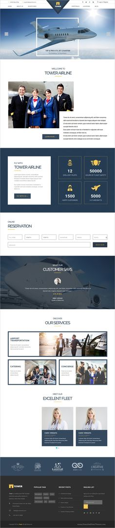Tower is a wonderful responsive 6in1 #WordPress theme for #airlines corporate #business and startups website download now➩ https://themeforest.net/item/tower-corporate-business-multipurpose-wordpress-theme/18587959?ref=Datasata