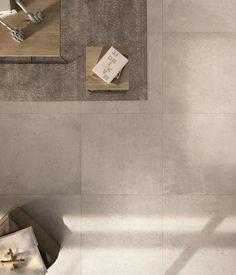 Risultati immagini per concrete gres Grey Floor Tiles, Grey Flooring, Wall And Floor Tiles, Home Design, Kitchen Sofa, Kitchen Walls, Exterior Tiles, Interior Styling, Interior Design