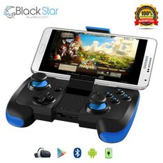 Samsung Gear VR Controller, Upgraded Version BEBONCOOL Android Bluetooth Game Controller Wireless Gamepad Joypad Joystick with Clip for Samsung Edge, Edge/Note Video Games Xbox, Vr Games, Bluetooth, Playstation, Mundo Dos Games, Vr Box, Gaming Accessories, Gaming Headset, Best Mobile