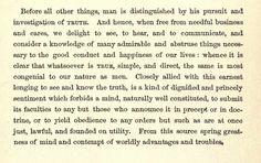 Cicero on simpicity of truth