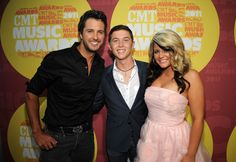 Luke Bryan, Lauren Alaina & Scotty Mccreery