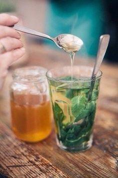 Мятный чай для похудения…