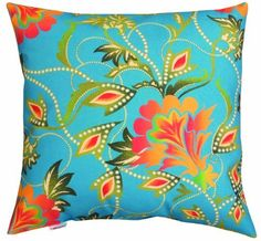 Manual Woodworkers and Weavers Climaweave Indoor/Outdoor Throw Pillow, Bright Floral, 20 by 20-Inch by Manual Woodworkers & Weavers, http://www.amazon.com/dp/B005ZM38A2/ref=cm_sw_r_pi_dp_S3e2rb0075HJP