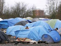 Slideshow : Life inside Grande-Synthe jungle refugee camp - Life inside Grande-Synthe jungle refugee camp - The Economic Times