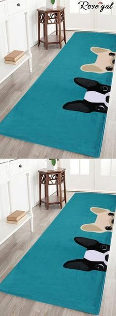 Up to 70% off.Free shipping worldwide.Puppy Head Coral Velvet Floor Area Rug - Lake Blue.the cute dogs print floor area rug makes your home more better.#rosegal #bathrug #homedecor #cute #dogs #puppy #cutedogs