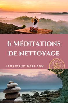 6 cleansing meditations 6 méditations de nettoyage 6 cleaning meditations to purify your energy field / Laurie Audibert / Holistic Coach & Business Witch for Spiritual Entrepreneurs Relaxation Techniques, Meditation Techniques, Qi Gong, Relaxing Yoga, Yoga Positions, Meditation Music, Reiki Meditation, Yoga Music, Yoga Inspiration