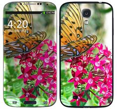 Skin Celular Borboleta Samsung Galaxy S4