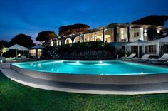 Tahiti Villa in St.Tropez, on the French Riviera