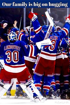 New York Rangers. It's not just a team. It's a family.