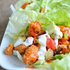 Buffalo Chicken Lettuce Wrap Recipe