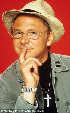 William Christopher as Father Mulcahy from the hit series M*A*S*H
