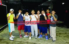 GYM de boxeo en la Colosio se prepara para las Olimpiadas Nacional 2015