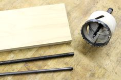 Turn your drill press into a drum sander by making your own spindles to hold sandpaper. This easy afternoon workshop project is great for sanding inside a concave...