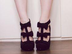 chaussures a talon compensé pour ado