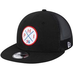 0d633d47 Men's Philadelphia 76ers New Era Black Vert Trucker 9FIFTY Snapback Hat,  Your Price: $31.99