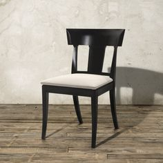 Seraphina Dining Side Chair in Black