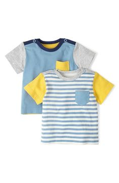 Mini+Boden+'Hotchpotch'+Chest+Pocket+T-Shirts+(Set+of+2)+(Baby+Boys)+available+at+#Nordstrom