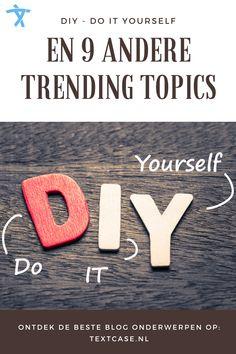 Zoek jij een onderwerp voor je blogs? Weet je niet waar je nu het beste over kunt schrijven voor een zo groot mogelijk publiek? Wij helpen je op weg met de top 10 trending blog onderwerpen. #bloggen #blog #trending #trends