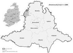 slepá mapa jihomoravský kraj - Hledat Googlem