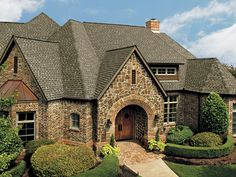 GAF Timberline HD ft Weathered Wood Laminated Architectural Roof Shingles at Lowe's. Your roof can represent up to of your home's curb appeal. Improve the resale value with Timberline HD® Shingles from GAF. Roof Shingle Colors, Roof Colors, Architectural Shingles Roof, Roof Replacement Cost, Diy Roofing, Wood Shingles, Roofing Shingles, Brick Siding, Asphalt Shingles