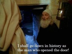"""""""Yes! I shall go down in history as a man who opened a door!"""" -Ever After - Leonardo Da Vinci"""