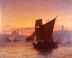 Vilhelm Karl Ferdinand Arnesen Boats in Bosphorus, you can purchase this painting as a premium quality (PVC FREE, cotton) art print on canvas. Oil On Canvas, Canvas Prints, Art Prints, Oil Painting Gallery, Danish Royal Family, Danish Royals, Ferdinand, Travel Abroad, Istanbul