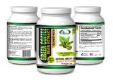 EZ Green Coffee Bean Extract with GCA, 800 mg, 100% Pure and Natural, Weight Loss Supplement for Women and Men. 60 ct Veggie Caps with GCA Antioxidants, Made in USA No Additives No Fillers. 30-Day Supply of Natural Dietary Supplement for Weight