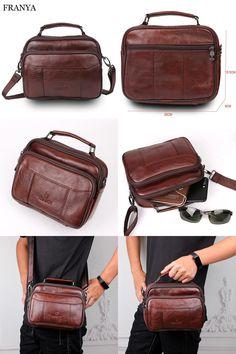 [Visit to Buy] brand handbags elunico 2017 fashion cheap leather handbag crossbody bags for men Casual mens messenger bag carteras mujer #Advertisement