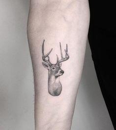 Small Deer Tattoo